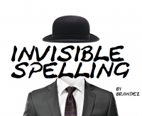 Invisible Spelling by Brandez (Instant Download)