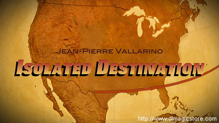 Isolated Destination by Jean-Pierre Vallarino