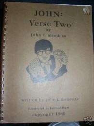 JOHN VERSE TWO by JOHN MENDOZA