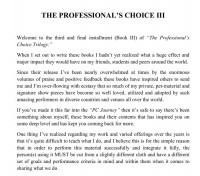 Jerome Finley – The Professional's Choice III