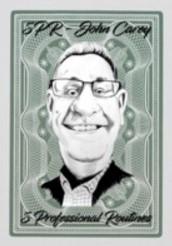 John Carey's 5 Professional Routines (Instant Download) 5PR