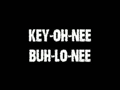 Key-Oh-Nee Buh-Lo-Nee by Jeff Stone