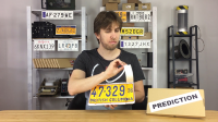 LICENSE PLATE PREDICTION by Martin Andersen (Gimmick Not Included)