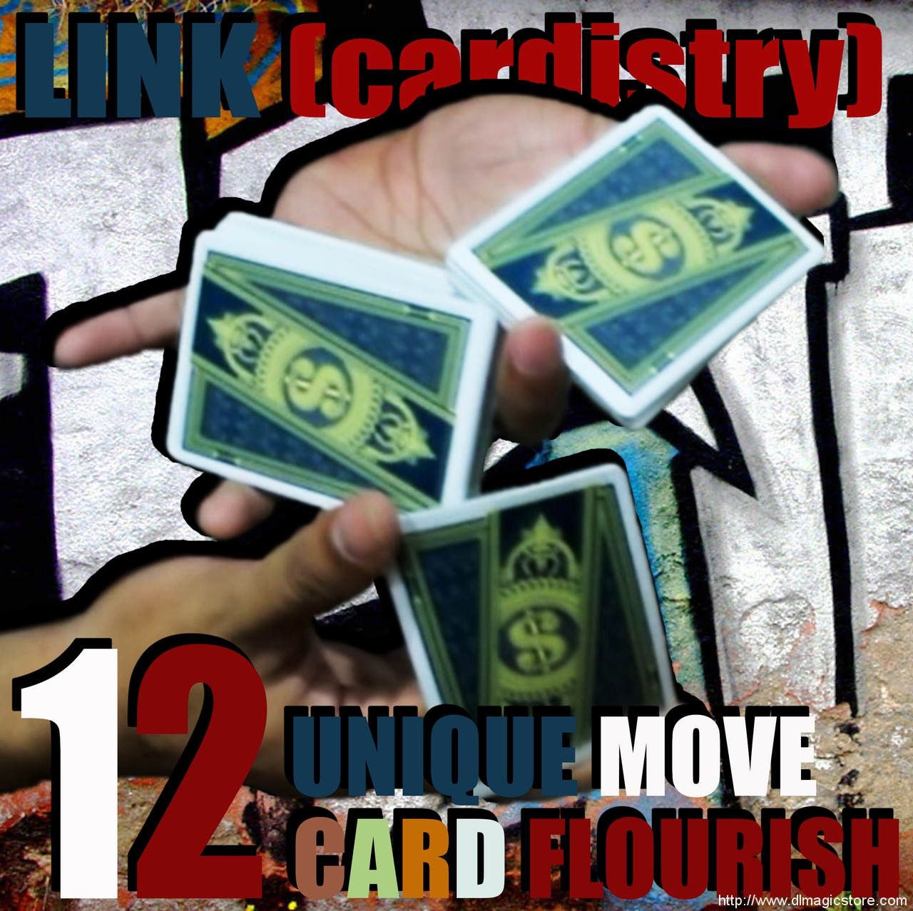 LINK (cardistry project) by SaysevenT (Instant Download)