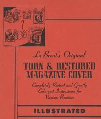 LU BRENT'S ORIGINAL TORN & RESTORED MAGAZINE COVER