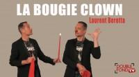 La bougie Clown by Laurent Beretta