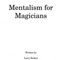 Larry Becker – Mentalism for Magicians