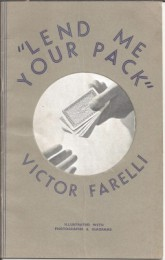 Lend Me Your Pack by Victor Farelli