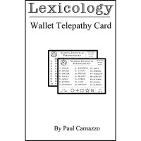 Lexicology with Telepathy card by Paul Carnazzo