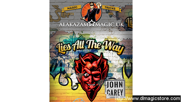 Lies All the Way Red by John Carey (Gimmicks Not Included)