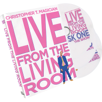 Live From The Living Room 3-DVD Set starring Christopher T. Magician
