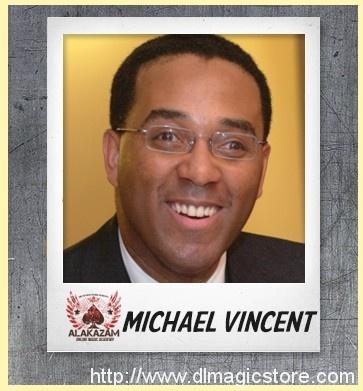 Live Online Magic Course with Michael Vincent Instant Download