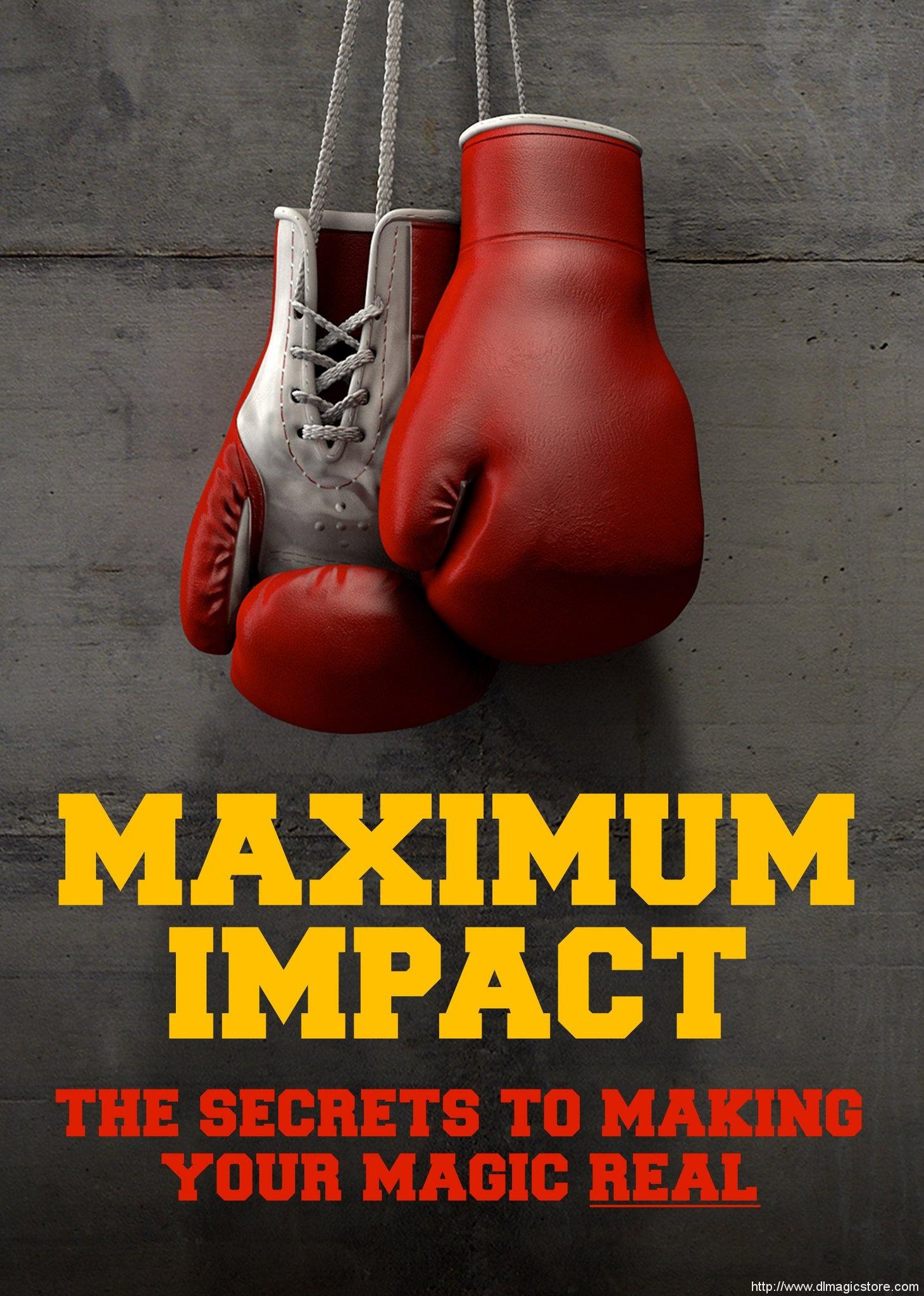 MAXIMUM IMPACT by Jay Sankey
