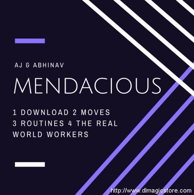 MENDACIOUS by AJ & Abhinav (Instant Download)