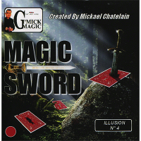 Magic Sword Card by Mickael Chatelain