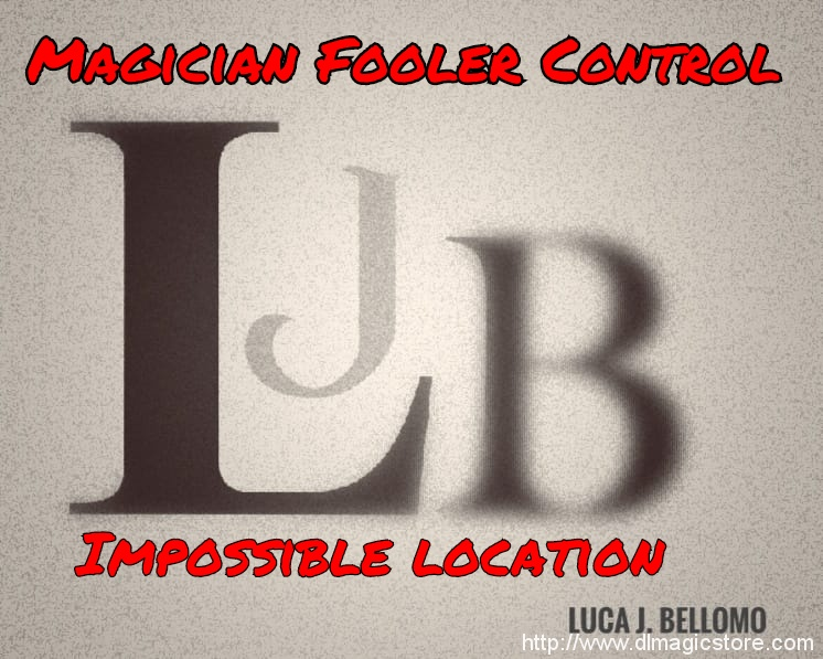 Magician Fooler Control by Luca J Bellomo (LJB) (Instant Download)