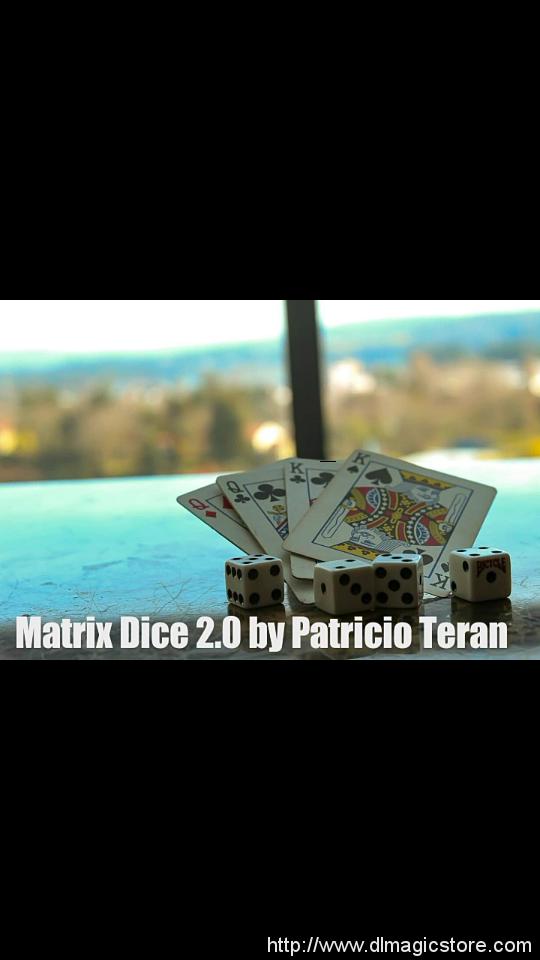 Matrix dice 2.0 by Patricio Teran (Instant Download)