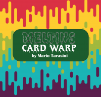 Melting Card Warp by Mario Tarasini