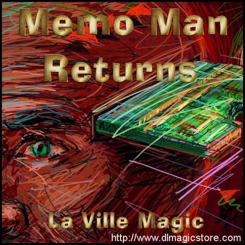 Memo Man Returns by La Ville Magic (Instant Download)