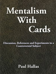 Mentalism With Cards by Paul Hallas