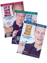 Michael Ammar – Easy to Master Thread Miracles – Set (Vols. 1-3)