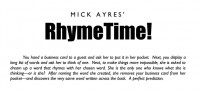 RhymeTime by Mick Ayres