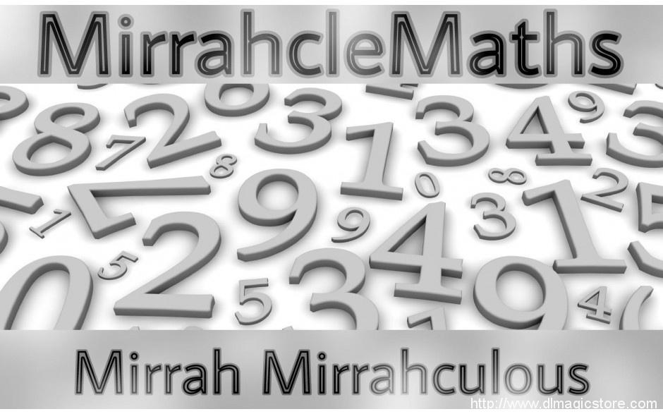 MirrahcleMaths by Mirrah Mirrahculous