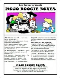 Mojo Boogie Boxes by Bob Farmer & Roy Kueppers
