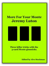 More For Your Monte by Jeremy Luton (E-book)