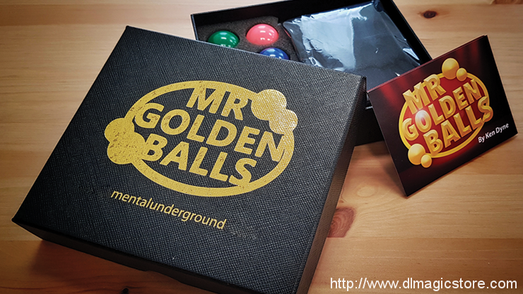 Mr Golden Balls 2.0 (Online Instructions) by Ken Dyne