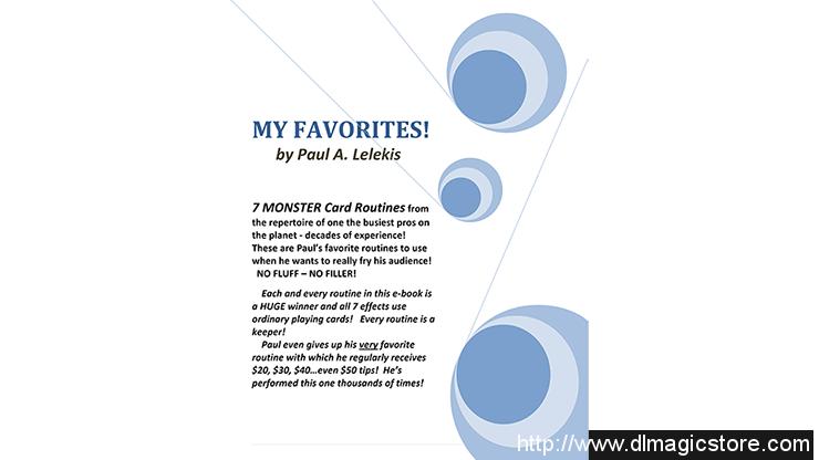 My Favorites! by Paul A. Lelekis eBook (Download)