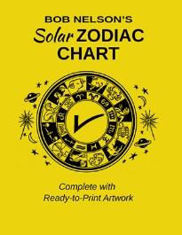 Nelson Solar Zodiac Chart By Bob Nelson