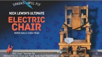 Nick Lewin's Ultimate Electric Chair and Paper Balls Over Head