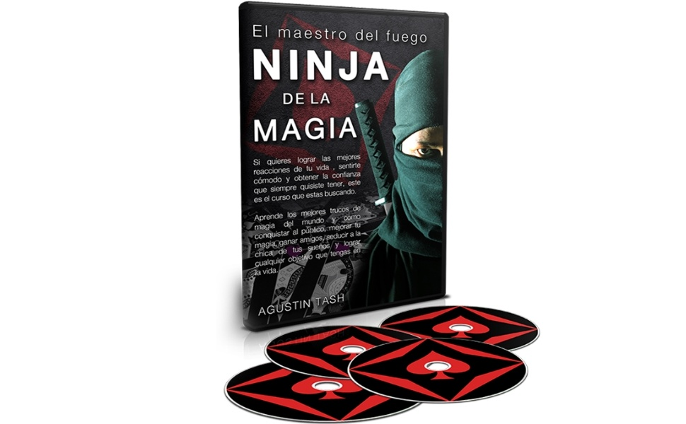 Ninja De La Magia by Agustin Tash Vol 8 El Maestro del Fuego