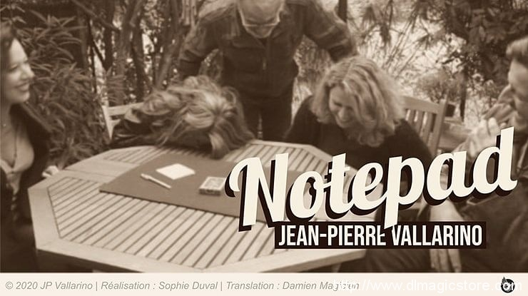 Notepad by Jean-Pierre Vallarino (Gimmick Not Included)