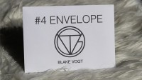 Number 4 Envelope by Blake Vogt (Gimmick Not Included)