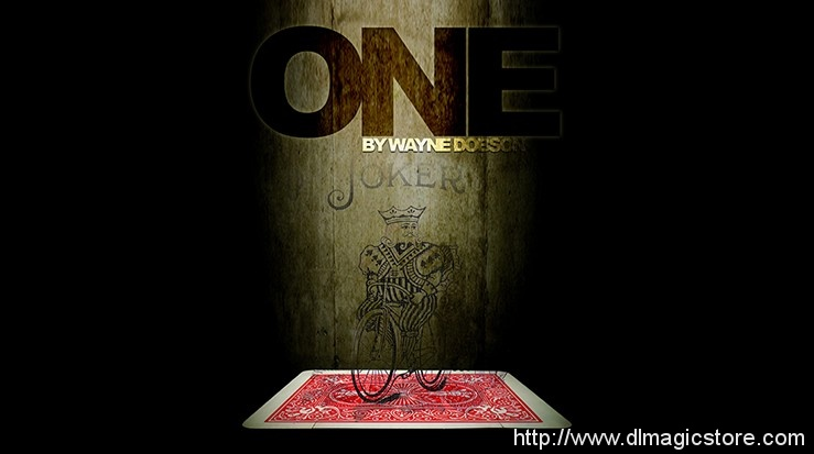 ONE (Online Instructions) by Wayne Dobson