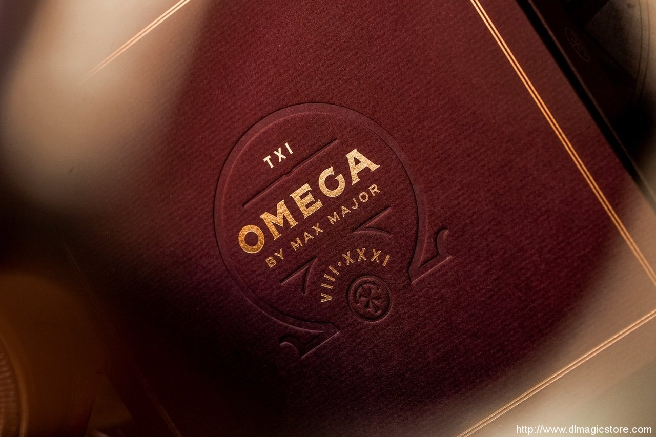 Omega by Max Major (Gimmick Not Included)