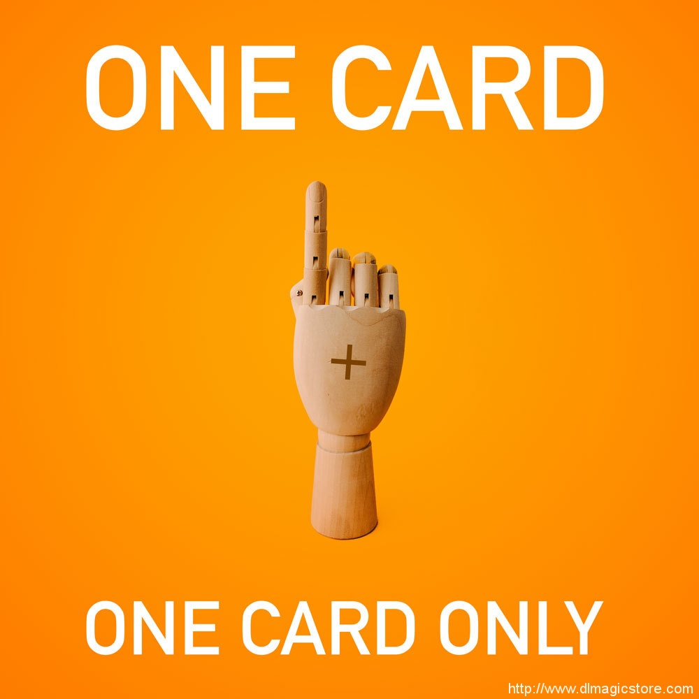 One Card and One Card Only by Larry Hass (Instant Download)