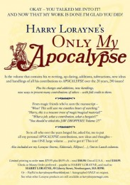 Only My Apocalypse! by HARRY LORAYNE