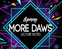 Jamie Daws – Opening More Daws – The Bizarre 2018 Lecture Notes