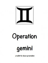 Operation Gemini by RedDevil Robert Red Devil Cosley