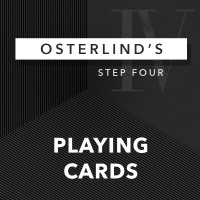 Osterlinds 13 Steps 4 Playing Cards by Richard Osterlind