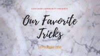 Our favorite Tricks by Conjuror Community (Sep 2018)