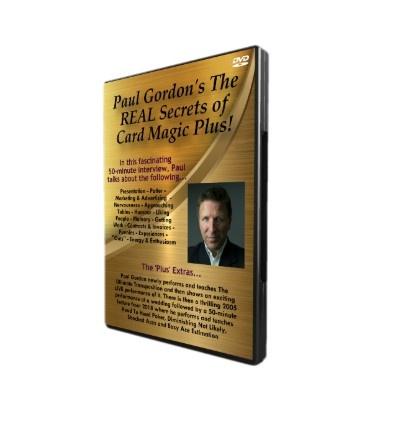 PAUL GORDON'S NEW (JAN 2019) DVD – THE REAL SECRETS OF CARD MAGIC PLUS!