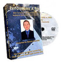 PERFORM LIKE A PRO by QUENTIN REYNOLDS