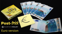 POST TRICK EURO by Gustavo Raley (Gimmicks Not Included)
