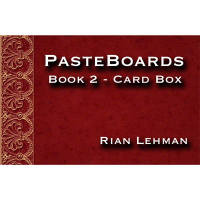 Pasteboards (Vol.2 Cardbox) by Rian Lehman
