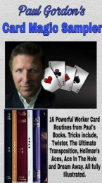 Paul Gordon's Card Magic Sampler e-book – 16 powerful workers.