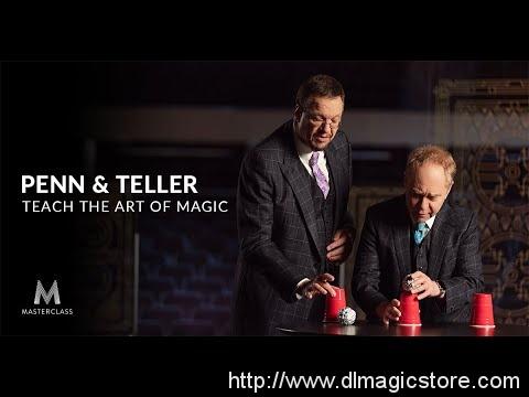 Penn & Teller Teach the Art of Magic MasterClass
